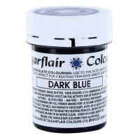 Sugarflair Chocolate Colouring 35g - DARK BLUE