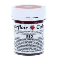 Sugarflair Chocolate Colouring 35g - RED