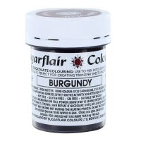 Sugarflair Chocolate Colouring 35g - BURGUNDY