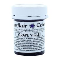 Sugarflair Chocolate Colouring 35g - GRAPE VIOLET