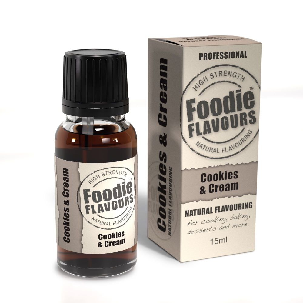 Foodie Flavours 15ml - Cookies & Cream
