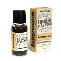 Foodie Flavours 15ml - Butterscotch