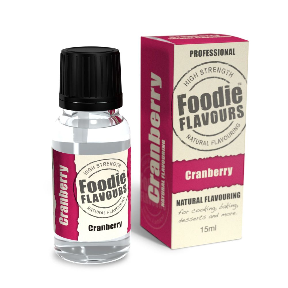 Foodie Flavours 15ml - Cranberry