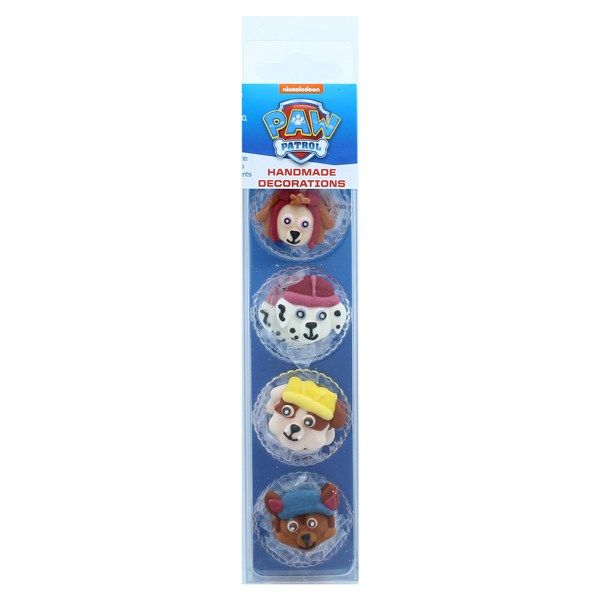 Culpitt PAW Patrol - 8 Edible Sugar Decorations