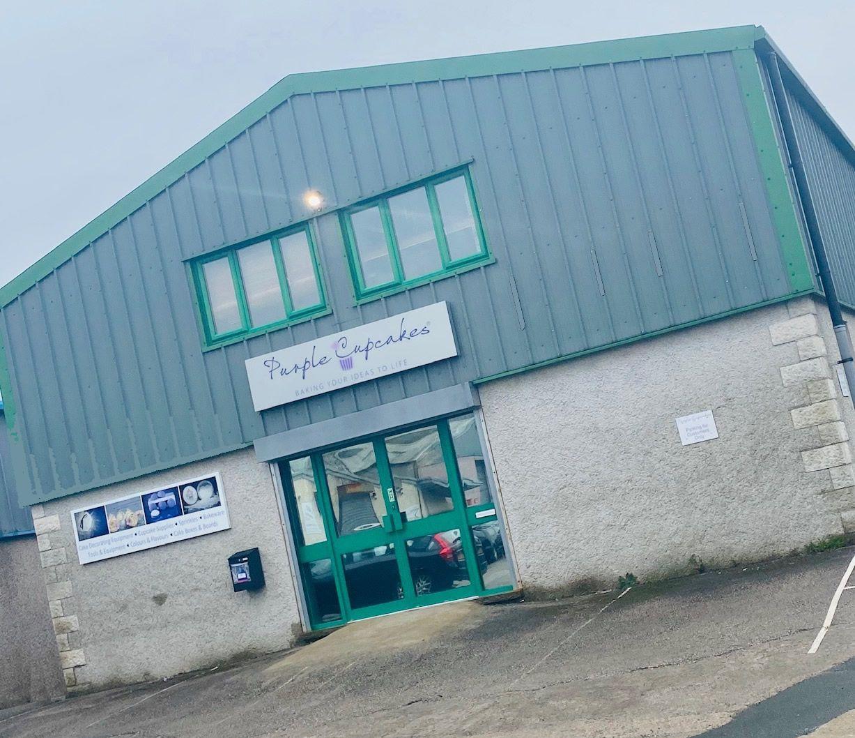 Purple Cupcakes Warehouse