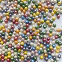 Purple Cupcakes - 4mm Pearls 80g - Shimmer Rainbow