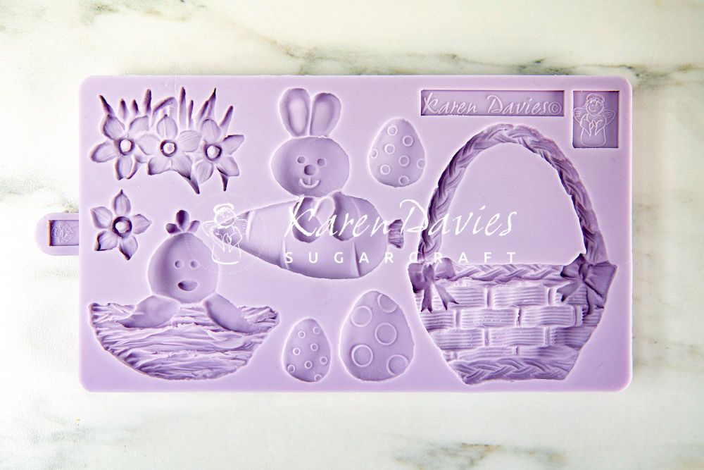 Karen Davies Mould - Easter Cookie Mould