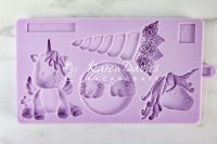 Karen Davies Mould - Unicorn Cookie Mould
