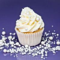 Purple Cupcakes - Pearls Sprinkle Blend 90g - Shimmer Pearl BRIDAL Mix (V)