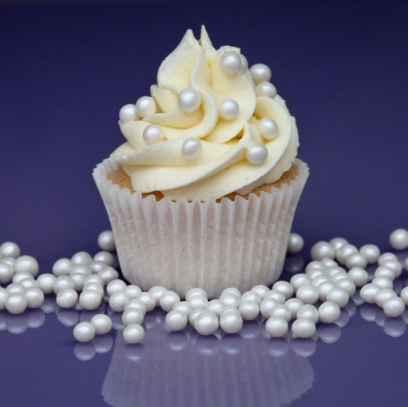 Purple Cupcakes - 6mm Pearls 80g - Shimmer Pearl
