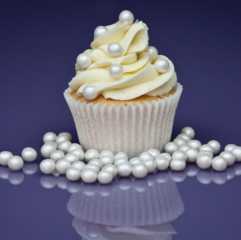 Purple Cupcakes - 8mm Pearls 80g - Shimmer Pearl