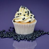 Purple Cupcakes - 4mm Non Pareils 90g - Shimmer Pewter