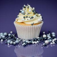 Purple Cupcakes - Sprinkle Blend 90g - Shimmer MISTY MORNING Mix (V)