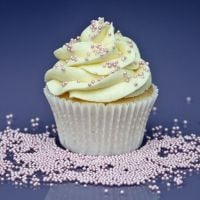 Purple Cupcakes - 2mm Non Pareils 90g - Shimmer Fairy Pink (V)