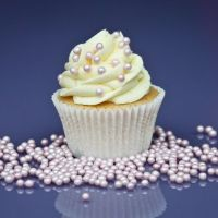 Purple Cupcakes - 4mm Pearls 80g - Shimmer Fairy Pink