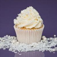 Purple Cupcakes - Sprinkle Blend 90g - Shimmer SNOWFALL Mix (V)