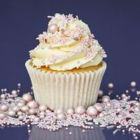 Purple Cupcakes - Sprinkle Blend 90g - Shimmer PINK LEMONADE Mix