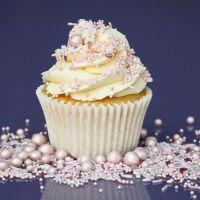 Purple Cupcakes - Sprinkle Blend 90g - Shimmer PINK LEMONADE Mix (V)