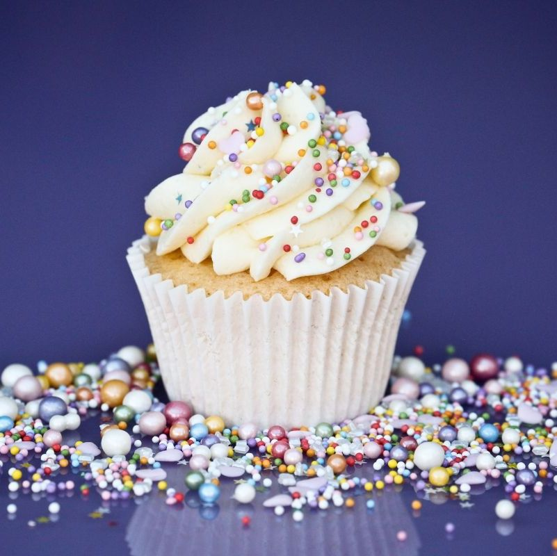 Purple Cupcakes - Sprinkle Blend 90g - Shimmer ICE CREAM Mix