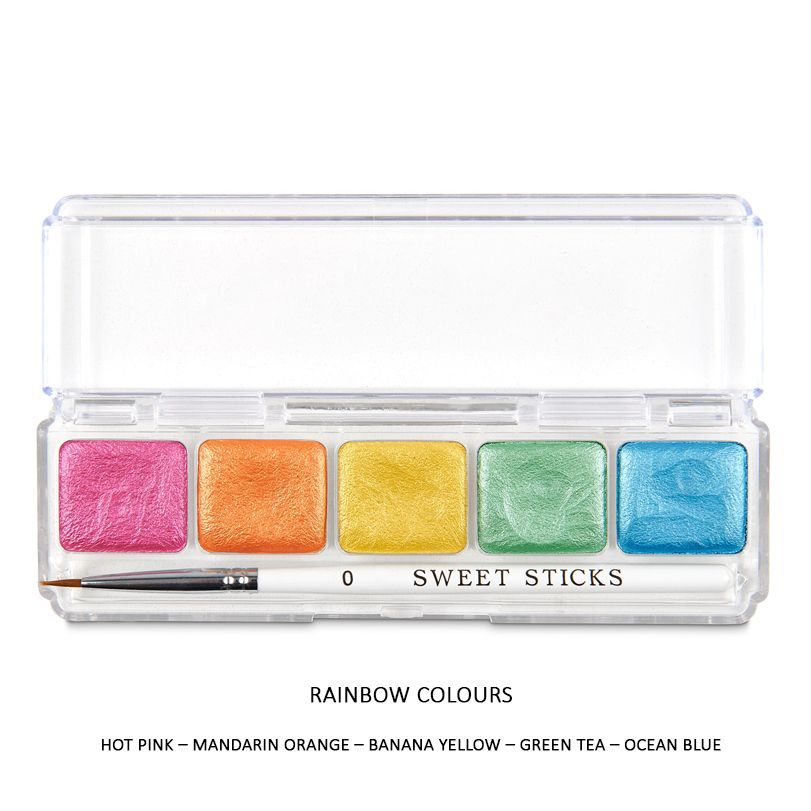 Sweet Sticks Mini Water Activated Paint - RAINBOW