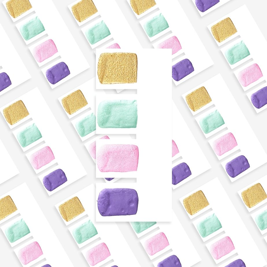 Sweet Sticks Paint Tab - MERMAID