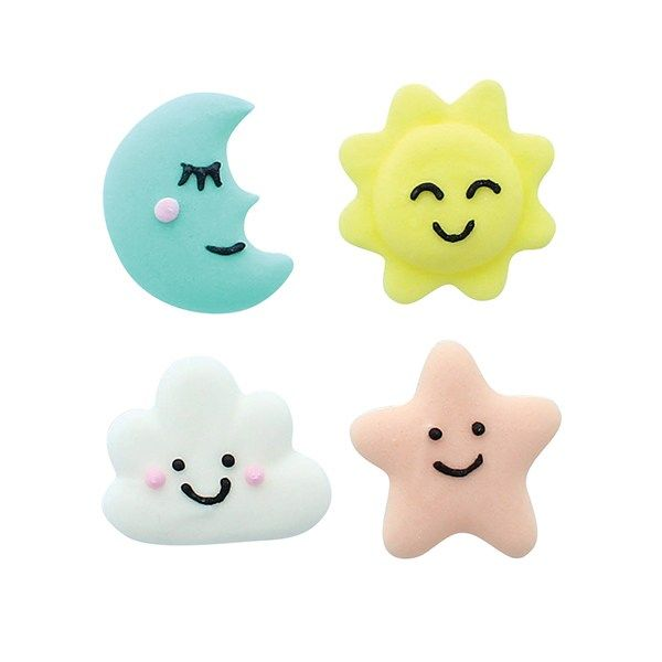 Sugar Decorations - Baked With Love - Baby Dreams x 12