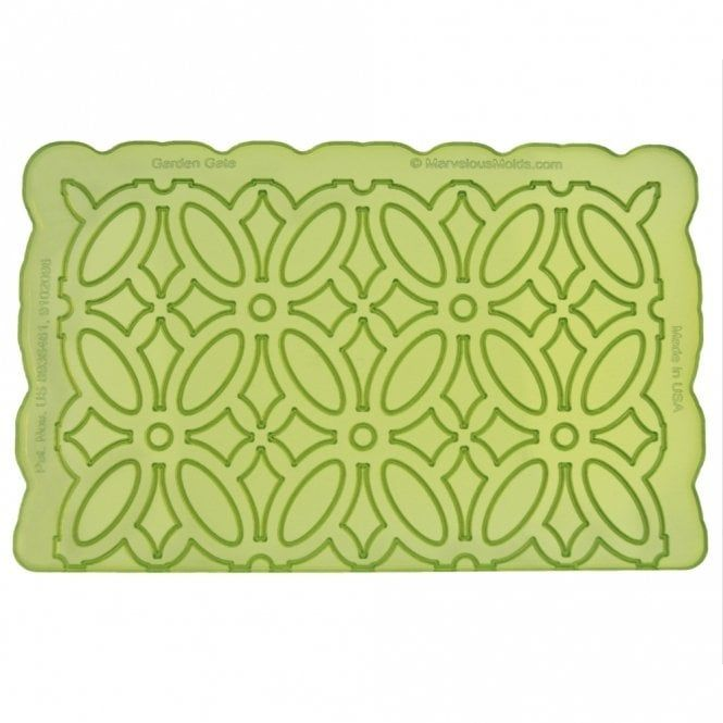 Garden Gate Silicone Onlay - Marvelous Molds