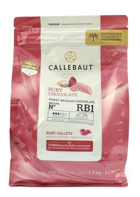 Callebaut RB1 Ruby Chocolate - 1kg