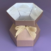 Cupcake Bouquet Box - Rose Gold