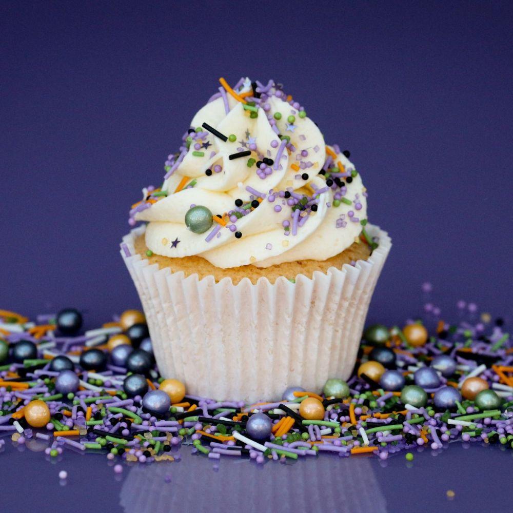 Purple Cupcakes - Sprinkle Blend 90g - SPOOKY HALLOWEEN Mix