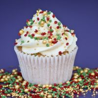 Purple Cupcakes - Sprinkle Blend 90g - JINGLE BELLS Mix