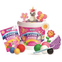 Squires Kitchen - Unicorn Flower Power Kids Cupcake Kit