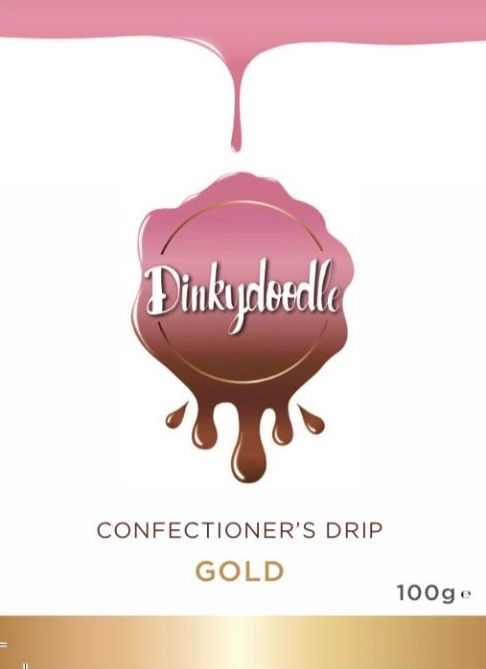Metallic Confectioners Cake Drip 100g