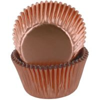 Baked With Love Cupcake Cases Pack of 50 - Rose Gold