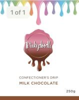 Confectioners Cake Drip 250g by Dinkydoodle - Milk Chocolate
