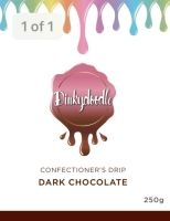 Confectioners Cake Drip 250g by Dinkydoodle - Dark Chocolate