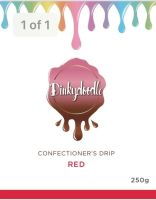 Confectioners Cake Drip 250g by Dinkydoodle - Red