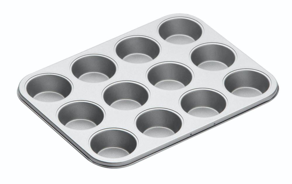 KitchenCraft Non-Stick Twelve Hole Cupcake Tin