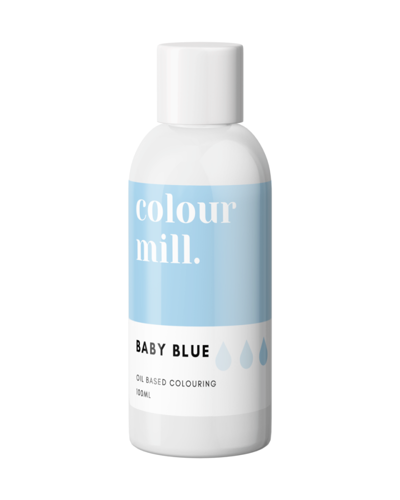 Colour Mill Concentrated Oil Based Colour - BABY BLUE 100ml