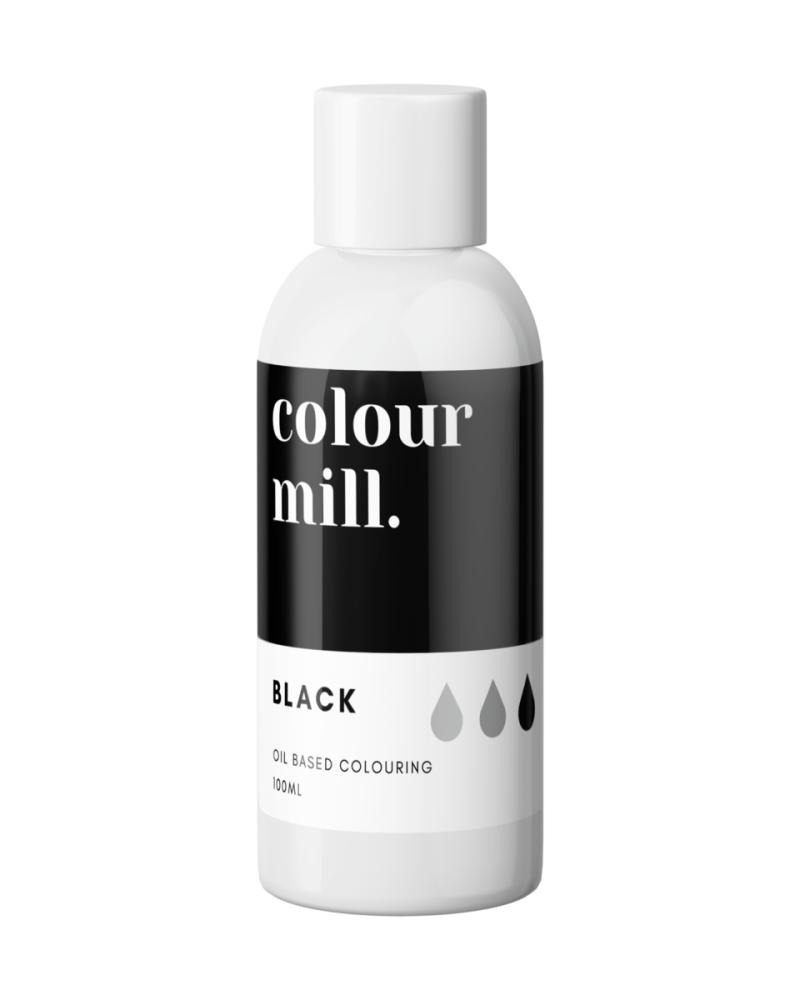 Colour Mill Oil Based Colour - BLACK 100ml