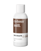 Colour Mill Oil Based Colour - CHOCOLATE  BROWN 100ml