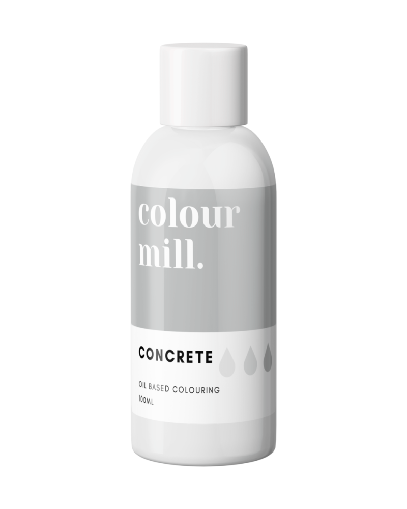 Colour Mill Oil Based Colour - CONCRETE 100ml