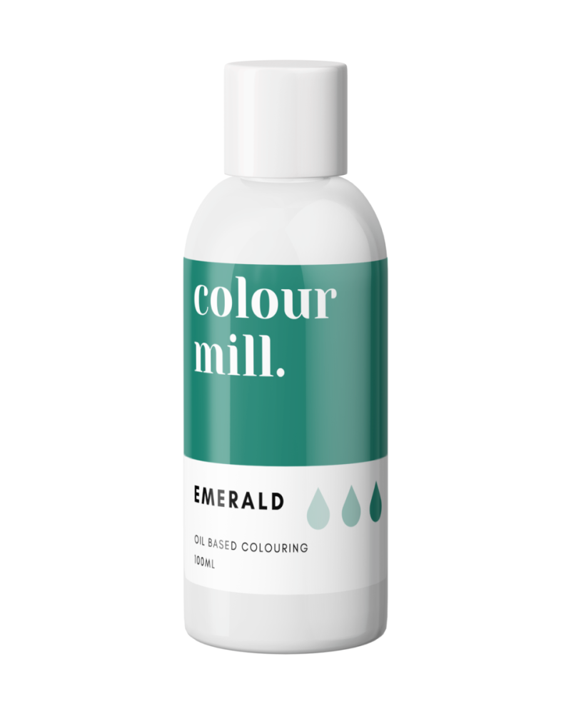 Colour Mill Oil Based Colour - EMERALD GREEN 100ml