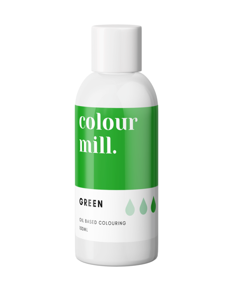Colour Mill Oil Based Colour - GREEN 100ml