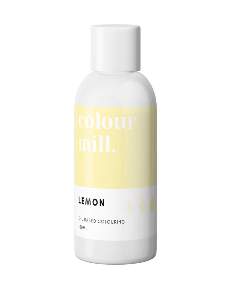 Colour Mill Oil Based Colour - LEMON 100ml