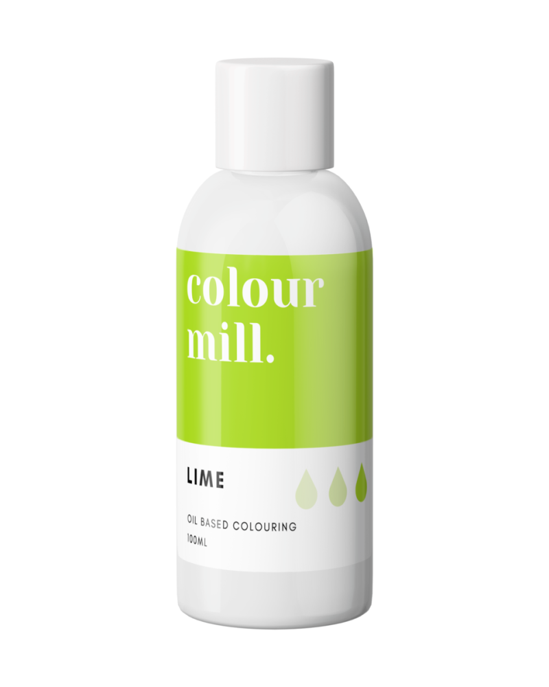 Colour Mill Oil Based Colour - LIME 100ml