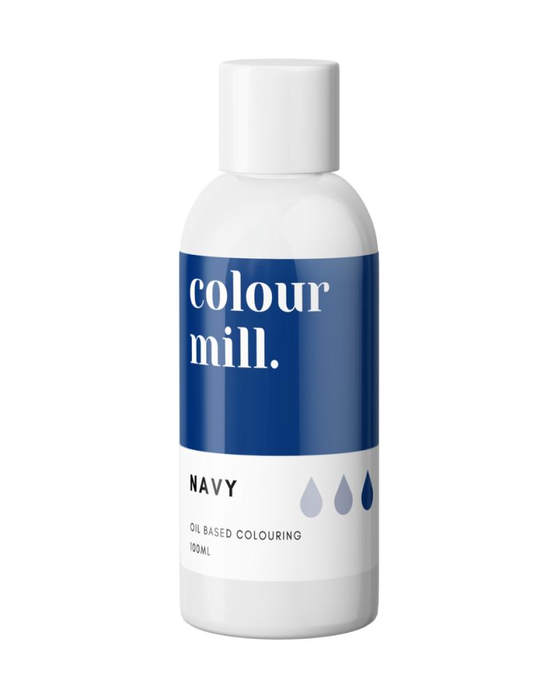 Colour Mill Oil Based Colour - NAVY BLUE 100ml