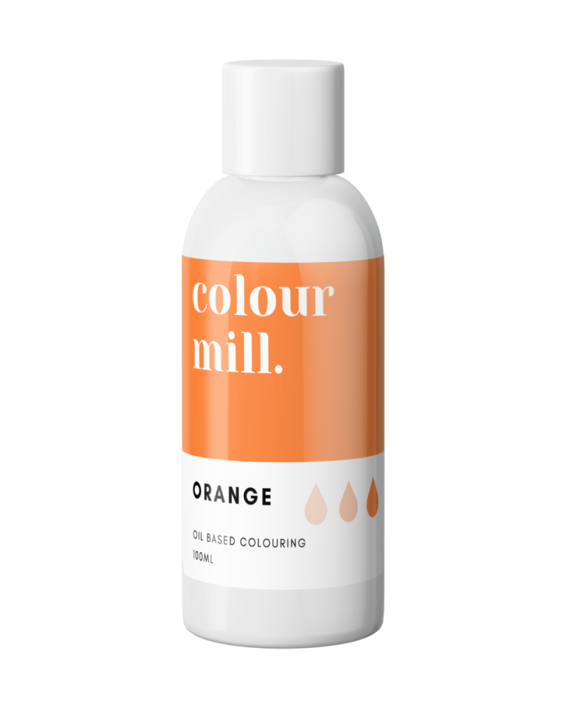 Colour Mill Oil Based Colour - ORANGE 100ml