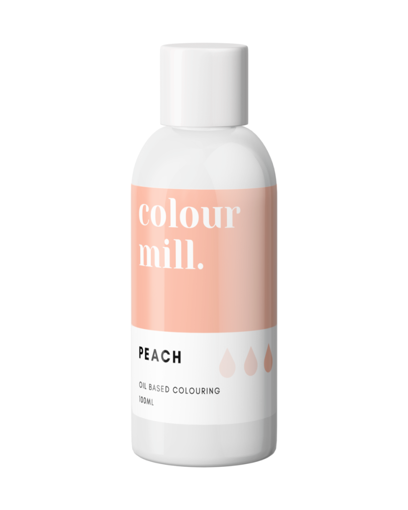 Colour Mill Oil Based Colour - PEACH 100ml