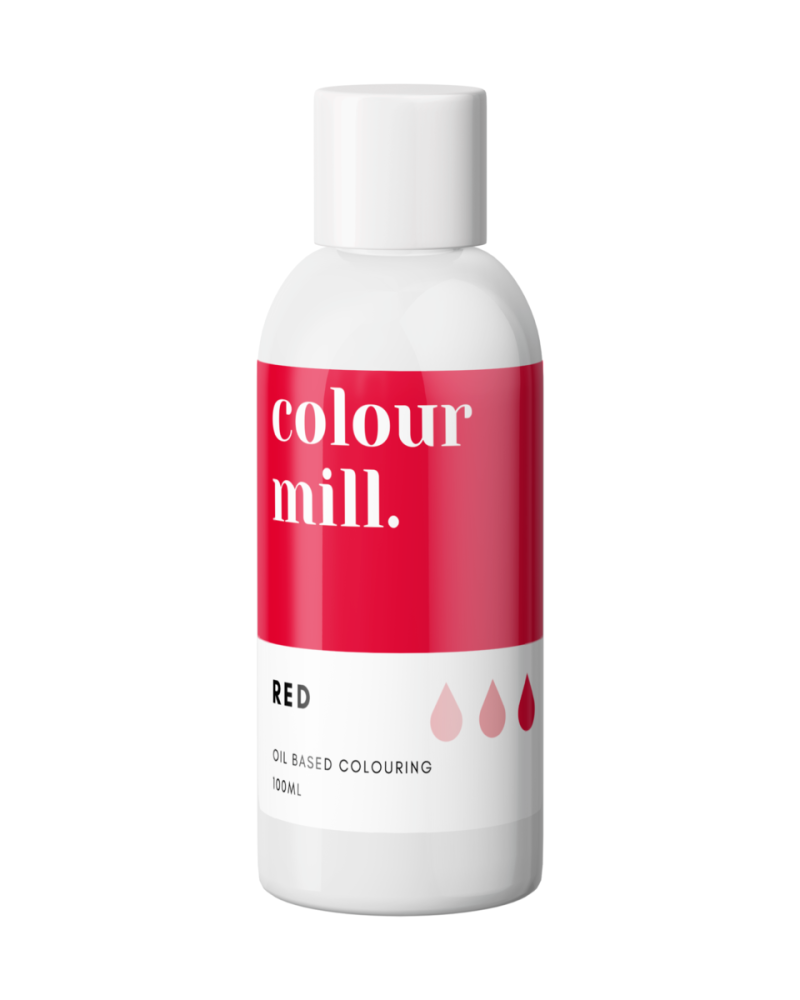 Colour Mill Oil Based Colour - RED 100ml